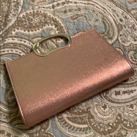Handbags - Snap-close cocktail bag with handle